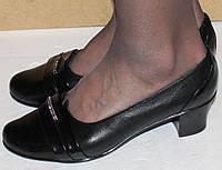 Туфли на каблуке на маленьком каблуке модель К4Б13, фото 1