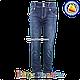 Джинсы с манжетам на штанине для девочек от 6 до 11 лет (4555), фото 2