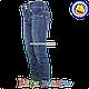 Джинсы с манжетам на штанине для девочек от 6 до 11 лет (4555), фото 3