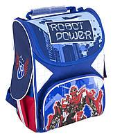 """Рюкзак(ранец) школьный каркасный 13,4 """","""" Robot Power """"701"""" для мальчиков"""