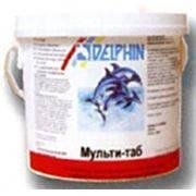 Мульти-таб 20 таблетки для бассейна 5 кг Delphin