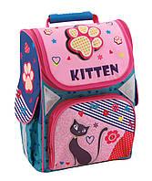 """Рюкзак(ранец) школьный каркасный 13,4 """","""" Sweet Kitten """"701"""" для девочек"""