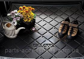 Резиновый коврик в багажник Kia Forte 2009-13 новый оригинальный