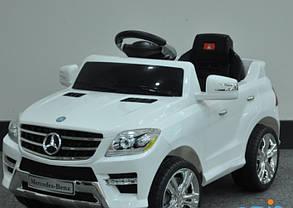 Детский электромобиль T-792 Mercedes ML 350 WHITE, фото 2
