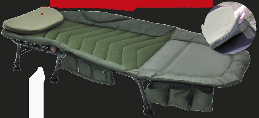 Кровать карповая Full Comfort Bedchair CZ0727 (213x78x28)