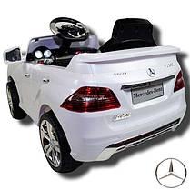 Детский электромобиль T-792 Mercedes ML 350 WHITE, фото 3