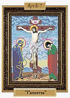 Схема для вышивания бисером Распятие Господне В-07