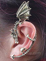 Украшение для уха в виде дракончика, фото 1