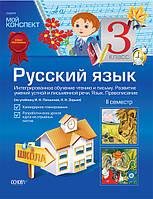 Російська мова. 3 клас. ІІ семестр (за підручником І. Н. Лапшиної, Н. Н. Зорьки)