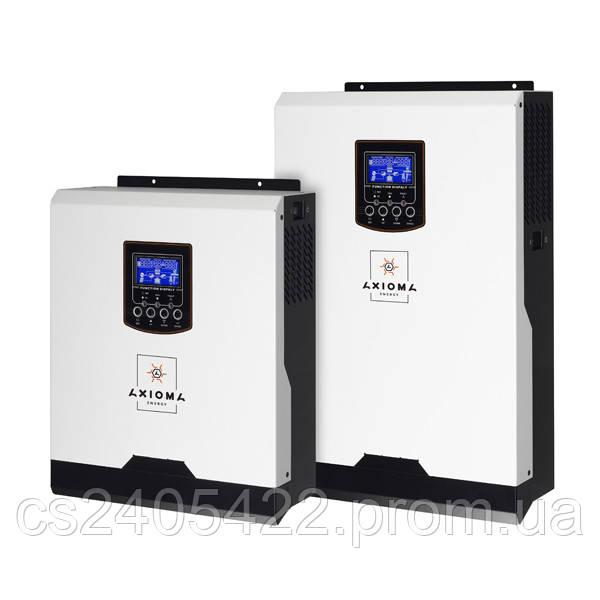 Автономный инвертор 3000ВА, 24В + ШИМ контроллер 50А, ISPWM 3000, AXIOMA energy