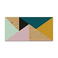 Декоративное панно Wood carpet 01