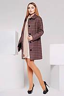 Пальто из итальянского кашемира PL-8586 мокко
