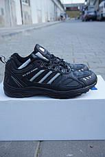Кроссовки подростковые VEER черные,кожаные., фото 3