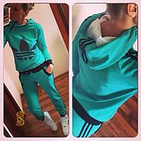 Женский батальный спортивный костюм Adidas