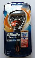 Бритвенный станок Gillette Fusion ProGlide  with FlexBall Technology на подставке