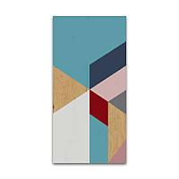 Декоративное панно Wood carpet 17