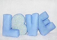 Подушки-буквы Love для фотосессии