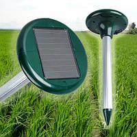 Ультразвуковий відлякувач гризунів, мух, комарів. Працює від сонячної батареї!