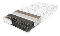 Матрас Standart Plus / Стандарт Плюс 1200х2000х190мм ЕММ Sleep&Fly усиленный зима-лето боннель 140кг