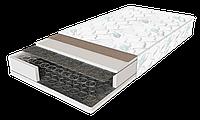 Матрас Standart Plus / Стандарт Плюс 1400х2000х190мм ЕММ Sleep&Fly усиленный зима-лето боннель 140кг