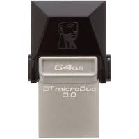 Flash Kingston DT Microduo 64Gb OTG 3.0 USB флешка