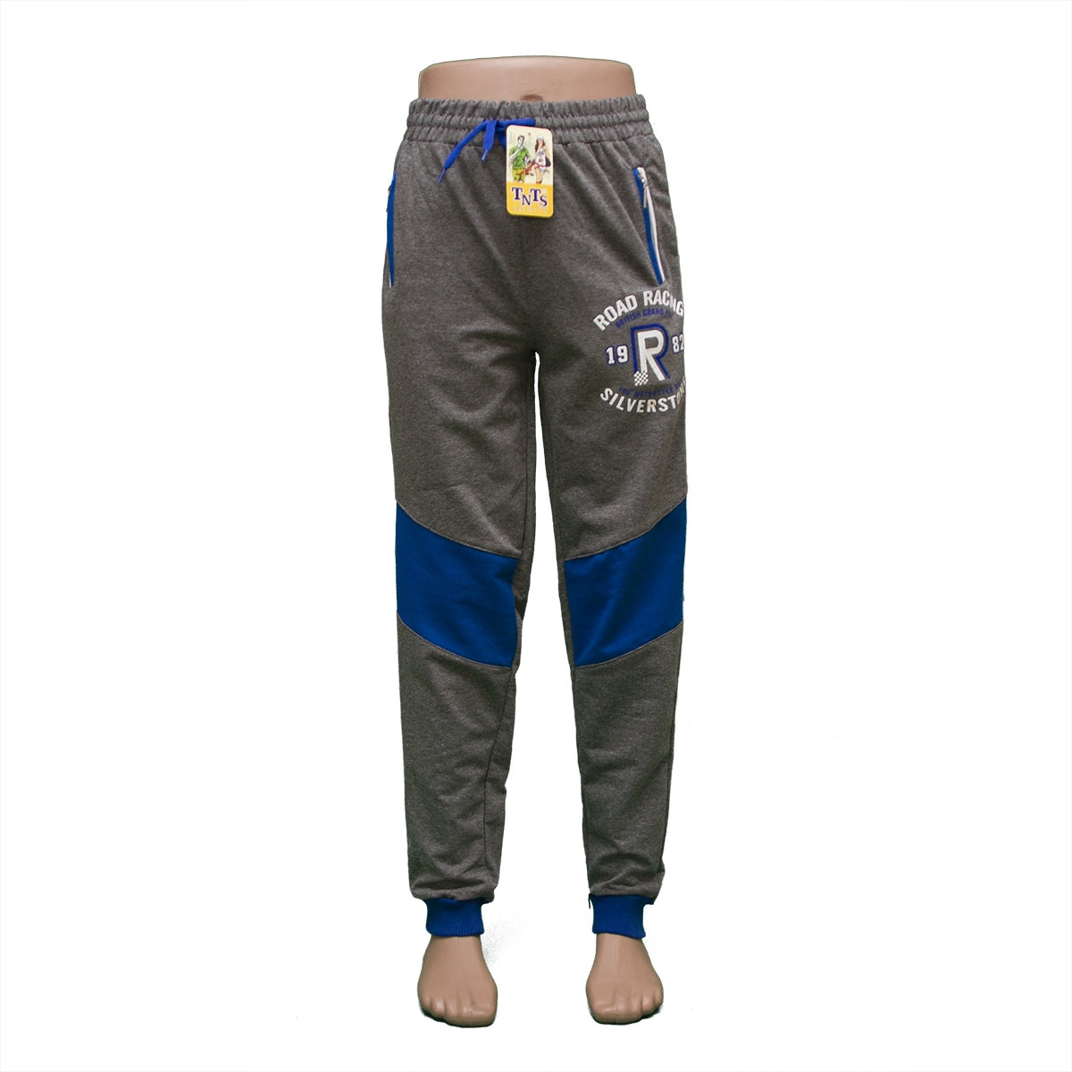 Трикотажные брюки на манжете пр-во Турция 2202N-2