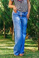Д275011 Штаны легкий джинс размеры 42-44