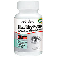 Витамины здоровое зрение 21st Century, Healthy Eyes with Lutein, 60 т