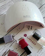 SUN9 UV LED лампа для сушки ногтей 24Вт