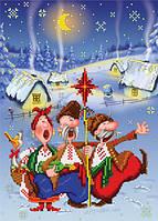 Схема для вишивки бісером Різдвяна радість