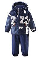 Детский зимний комплект для мальчиков Reima Nappaa 513099-6984. Размер 80-98.