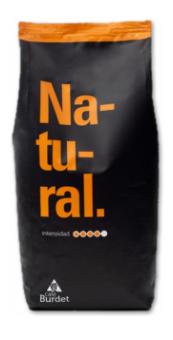 Кофе в зернах Burdet Natural 500г