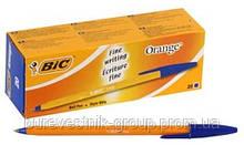 """Упаковка ручек шариковых масляных BIC """" Orange """" ( 20шт. ), синяя"""