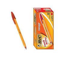 Ручка шариковая BIC Orange красная