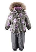 Зимний комплект для девочки ReimaтТес MUHVI 513102R-9392. Размер  80 - 98.