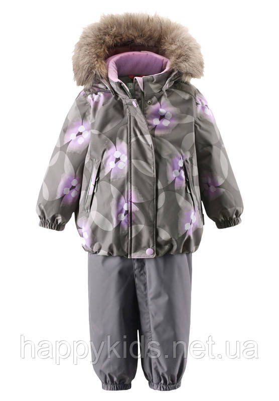 Зимний комплект для девочки ReimaтТес  MUHVI 513102R-9392. Размер 80.