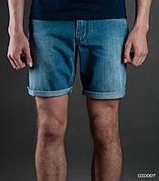 Мужские джинсовые шорты (с подкатом) Staff - Art. GZ0007 (синий)