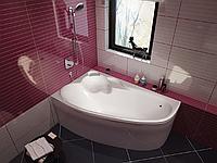 Ванна акрилова  Koller Pool Nadine (150Х100 L/R) з сифоном A51CRM і ніжками  , фото 1