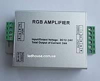 RGB-усилитель -24A (12/24V, 288/576W) 8A на канал, фото 1