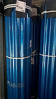 Шифер пластиковый в рулонах армированный голубой 2м*20м