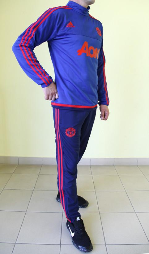 e25ef6ac Мужской спортивный костюм Adidas CF 99985 ярко-синий с красным код 353б,  цена 1 100 грн., купить в Северодонецке — Prom.ua (ID#337568900)