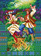 Схема для вишивки бісером Гуцульська ватра