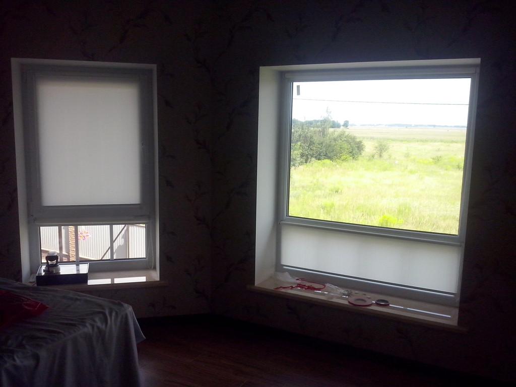 рулонные шторы на окна Киев 4