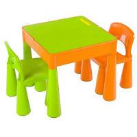 Мебельный комплект Tega Мамонт Оранжево-салатовый