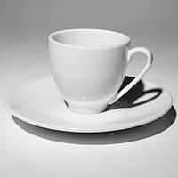 Alt Porcelain Чашка фарфоровая с блюдцем (80мл)