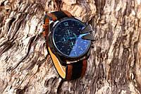 Diesel мужские имиджевые часы с оранжевым ремешком
