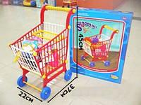 Тележка супермаркет с продуктами 5283