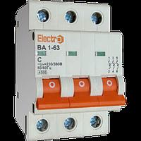 Выключатель автоматический ВА1-63 3п 01A  4,5кА  х-ка С