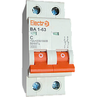 Выключатель автоматический ВА1-63 2п  1,6A  4,5кА  х-ка С