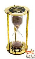 Сувенирные песочные часы из бронзы